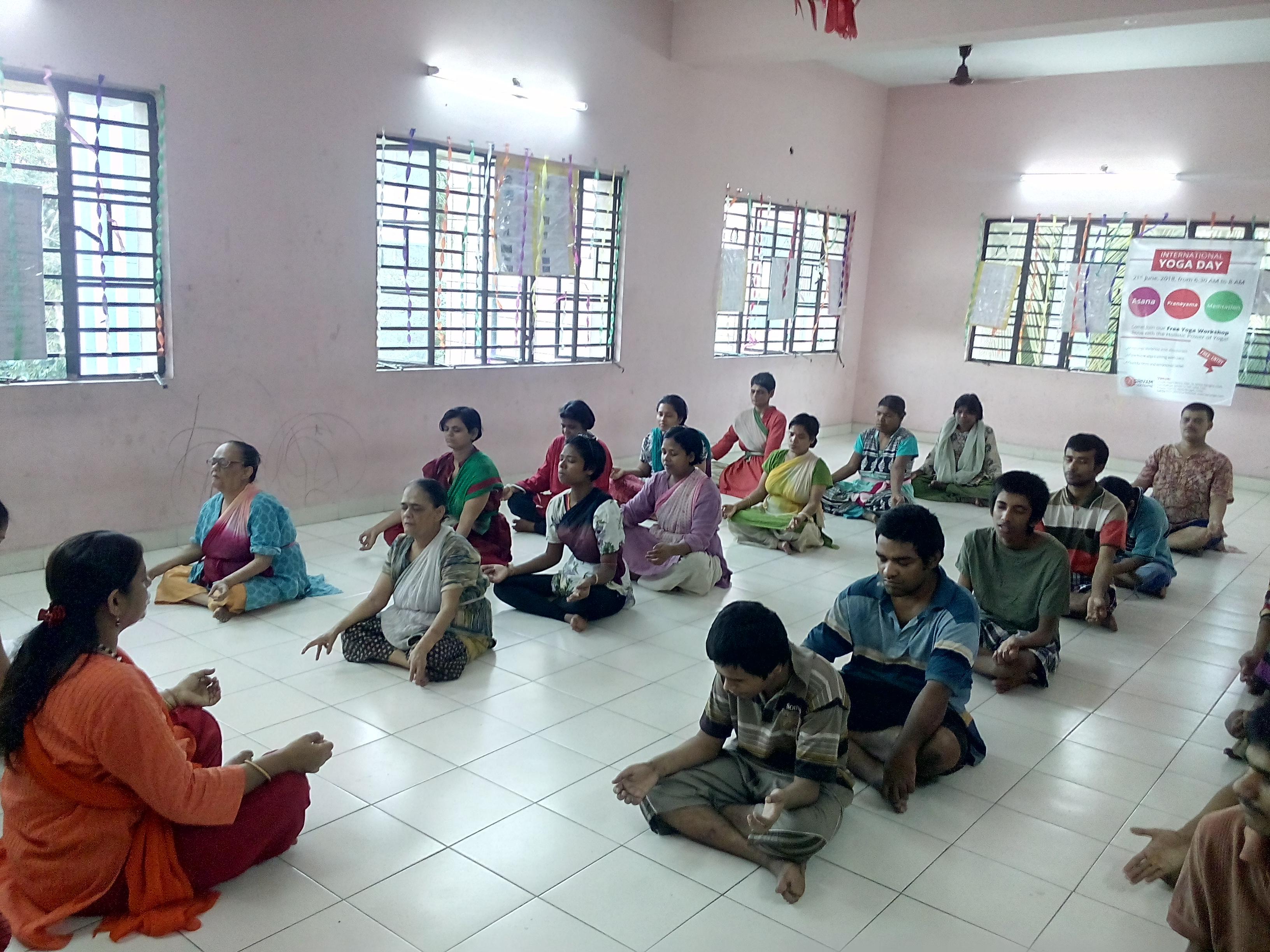 Celebration of World Yoga Day